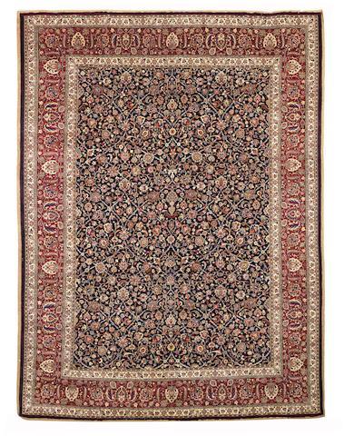 A Saber Mashed Carpet   North East Persia, 394cm x 300cm
