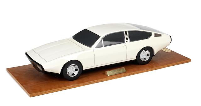 A display model of a Jaguar Owen Sedanca,