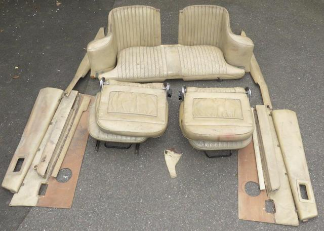 A set of seats and interior trim for an Aston Martin DBS V6,   ((Qty))