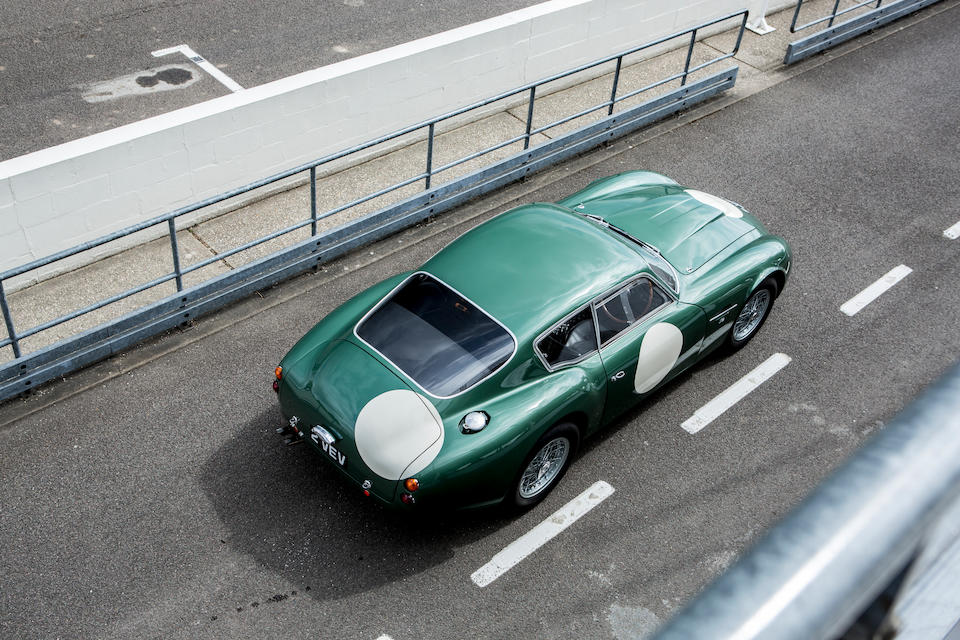 '2 VEV' - The ex-Essex Racing Stable,1961 Aston Martin 'MP209' DB4GT ZAGATO  GRAND TOURING TWO-SEAT COUPE  Chassis no. DB4GT/0183/R