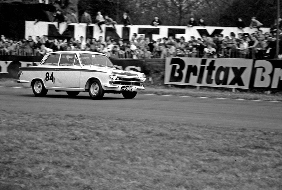 The ex-Team Lotus, Jim Clark/John Whitmore/Jack Sears,1965 Ford Lotus Cortina MkI Competition Saloon  Chassis no. BA85E 424567S