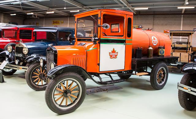 <b>c.1917 Ford Model TT Fuel Tanker Truck</b><br />Engine no. 11860642