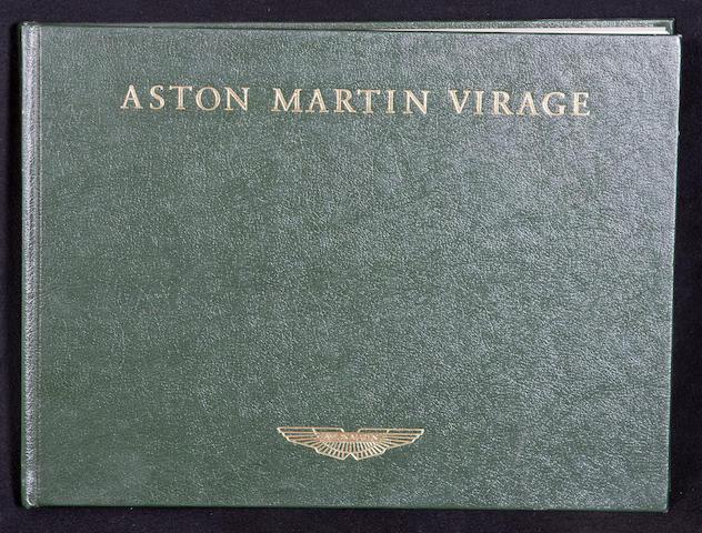 Aston Martin books and ephemera,  ((Qty))