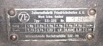 A ZF 5-speed gearbox,