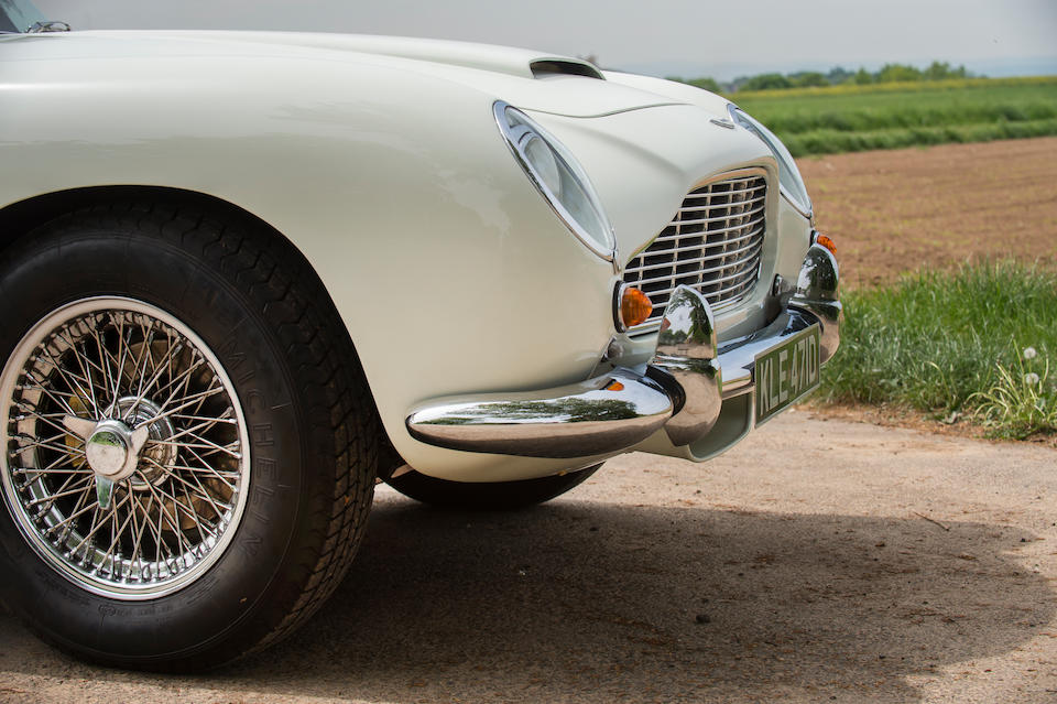 Believed the penultimate example built,1965 Aston Martin DB5 4.2-Litre Convertible  Chassis no. DB5C/2122/R