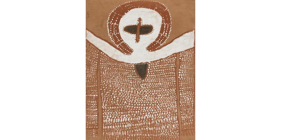 Alec Mingelmanganu (circa 1905-1981) (Wanjina), c.1980