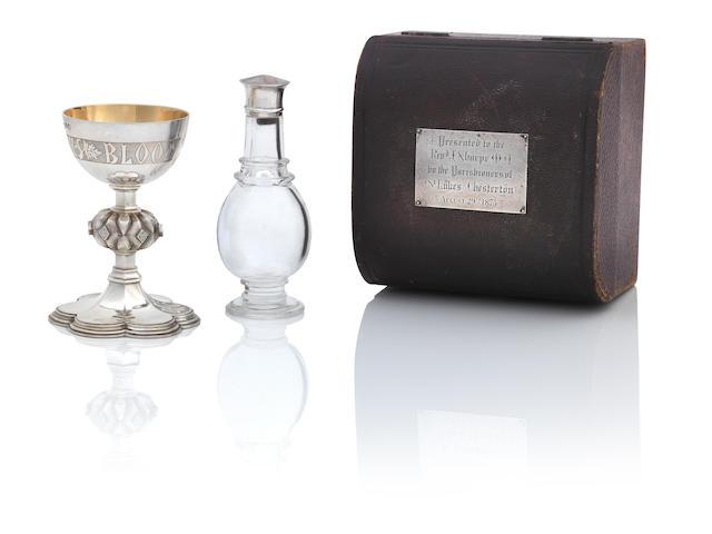 A travelling communion set John Keith, London 1783