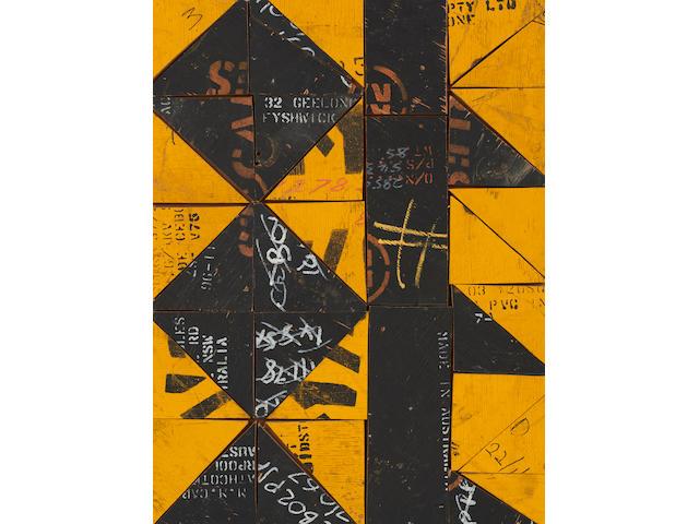 Rosalie Gascoigne (1917-1999) Pavement III, 1998