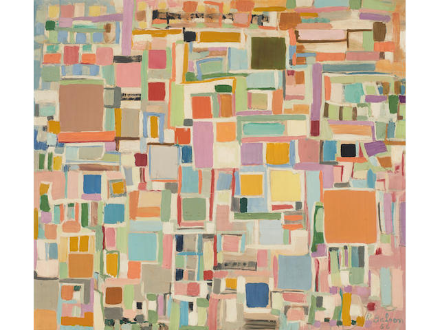 Ralph Balson (1890-1964) Painting no. 36, 1956