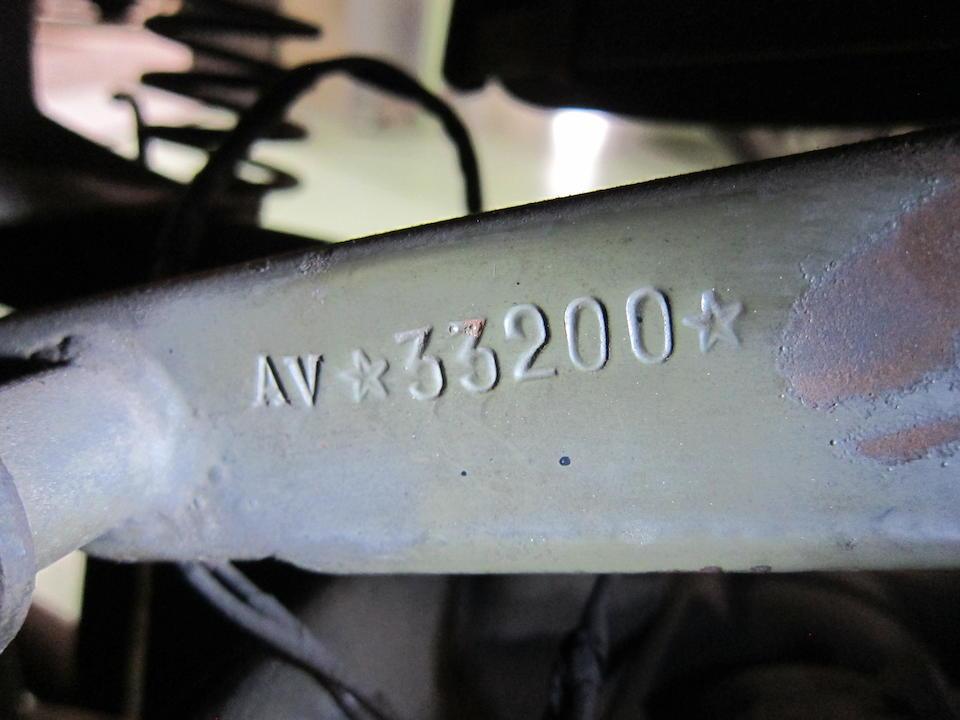 c.1947 Moto Guzzi 498cc Superalce Military Frame no. AV*33200* Engine no. AV*107108