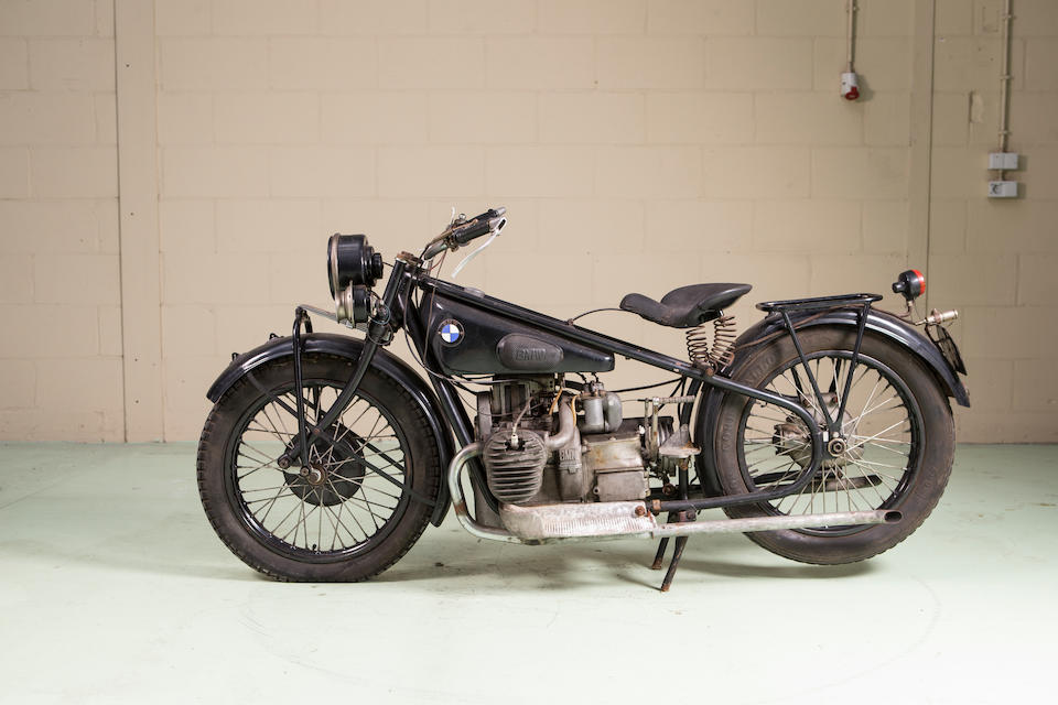 1928 BMW 482cc R52 Frame no. 28848 Engine no. 50672
