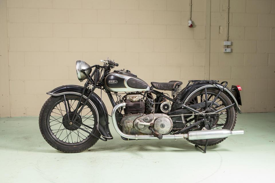 1936 Ariel 600CC Square Four 4F/6 Frame no. Y11196 Engine no. XB328