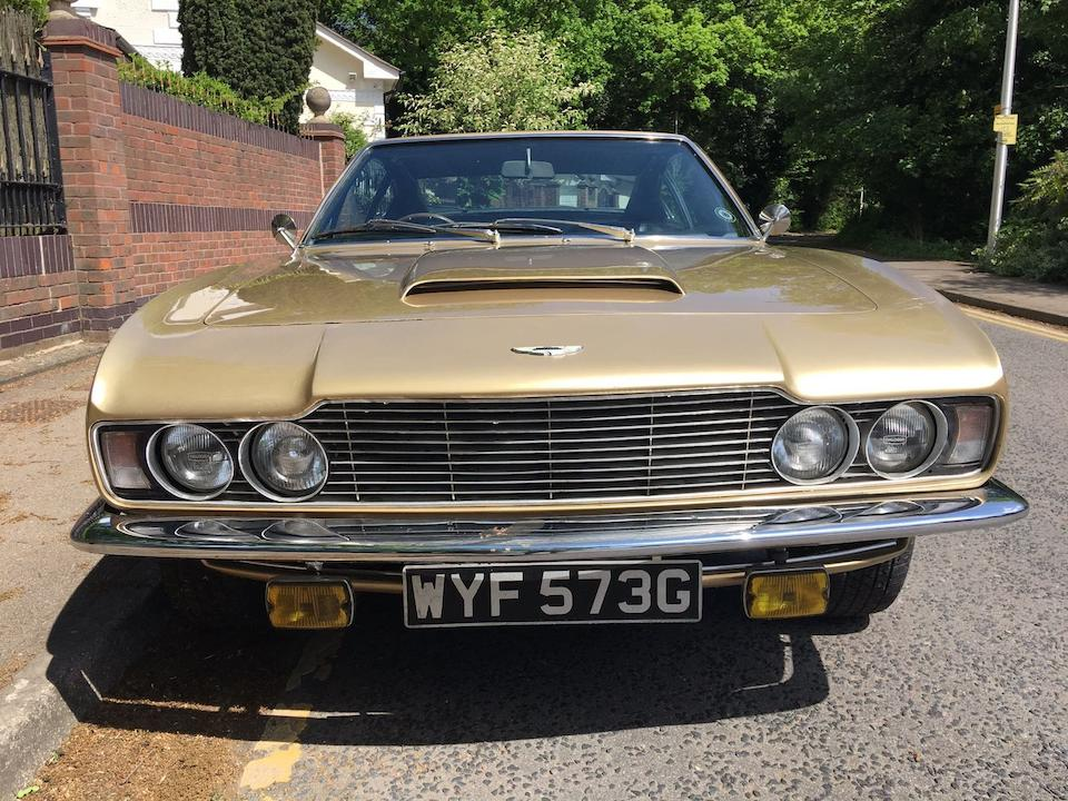 1968 Aston Martin  DBS Sports Saloon  Chassis no. DBS/5334/R