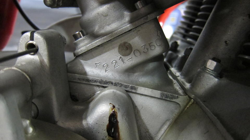 1978 MV Agusta 861 Magni Frame no. 2210815 Engine no. 221-0350
