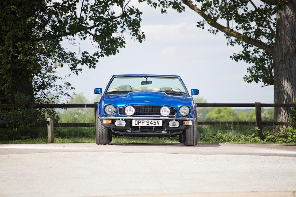 1980 Aston Martin V8 Volante Convertible  Chassis no. V8COL/15195