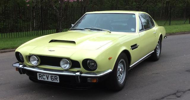 1976 Aston Martin V8 Series 3 Sports Saloon  Chassis no. V8/11560/RCA