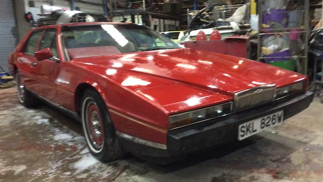 1976 Aston Martin Lagonda Series 2 Saloon Project  Chassis no. LOOR 13044