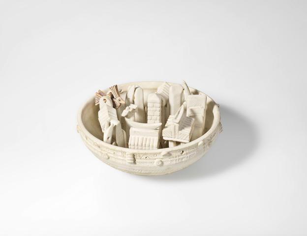 Ian Godfrey (British, 1942-1992) A Hanging Bowl, circa 1975