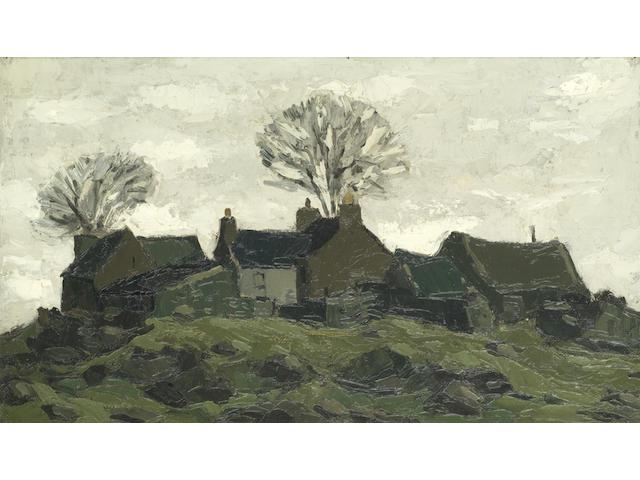 Sir Kyffin Williams R.A. (British, 1918-2006) Anglesey Farm