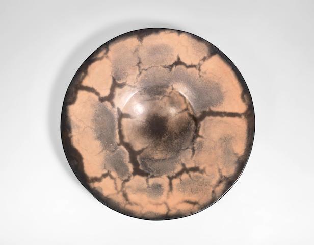 Gabriele Koch (German, 1948-) A Large Shallow Bowl
