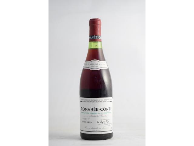 Romanée-Conti 1976, Domaine de la Romanée-Conti (1)