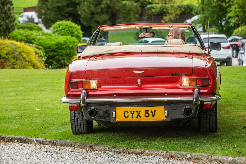 1979 Aston Martin V8 Volante  Chassis no. V8COR/15109