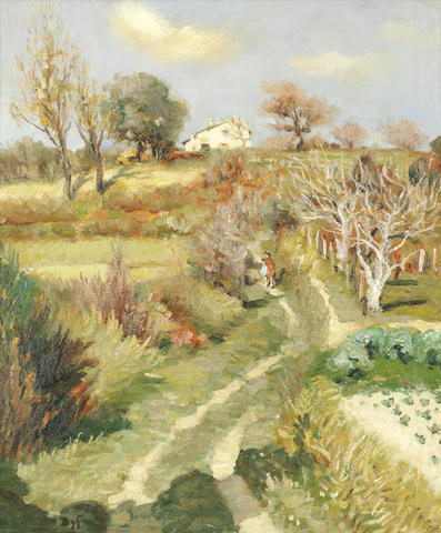 Marcel Dyf (1899-1985) 'Verger Provencal' (Painted in 1950)