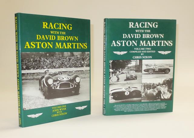 John Wyer & Chris Nixon: Racing with the David Brown Aston Martins, volumes 1 and 2;  ((2))