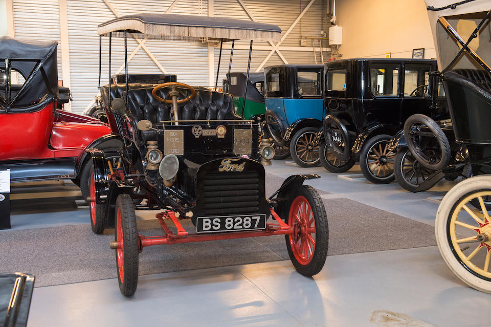 <b>1904 Ford MODEL C 10HP TWO/FOUR SEATER SIDE ENTRANCE TONNEAU WITH SURREY</b><br />Car No. 1653 &#8211; see text<br />Engine no. 2237
