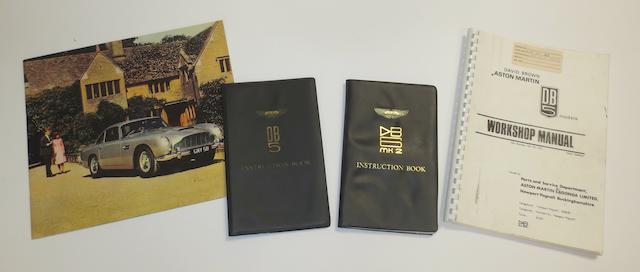 Two instruction books for Aston Martin DB5 and DB6 Mk2,   ((4))