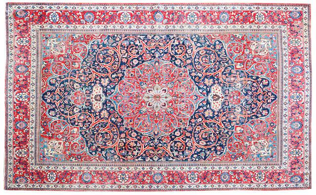 A North West persian carpet  472cm x 350cm