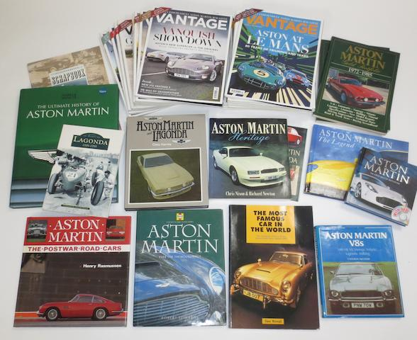 Aston Martin books and literature,   ((Qty))