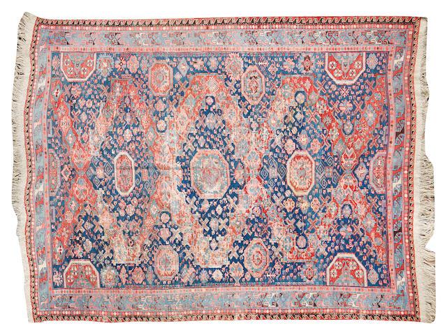 A Soumak carpet 263cm x 232cm
