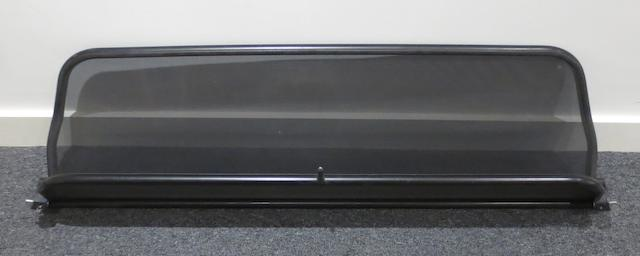 An Aston Martin DB7 Volante wind deflector,