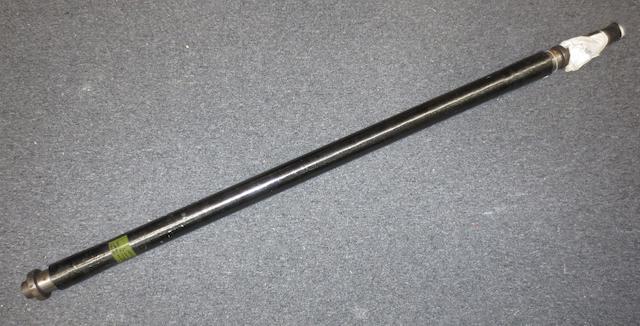An Aston Martin DB9 carbon prop shaft,