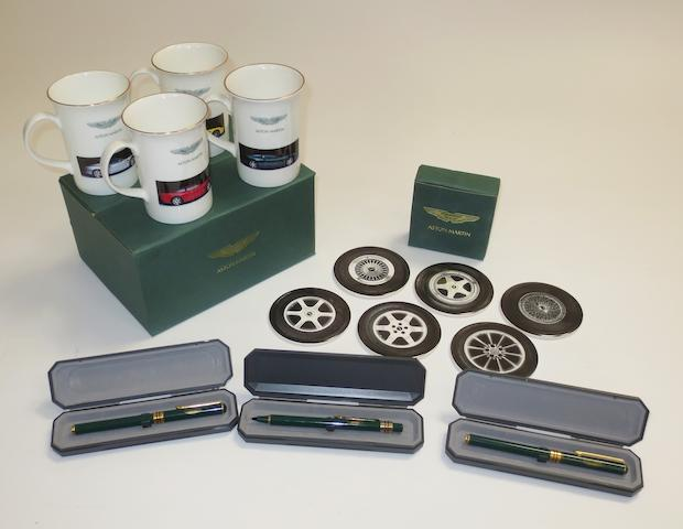 Assorted Aston Martin promotional and collectable items,  ((Qty))