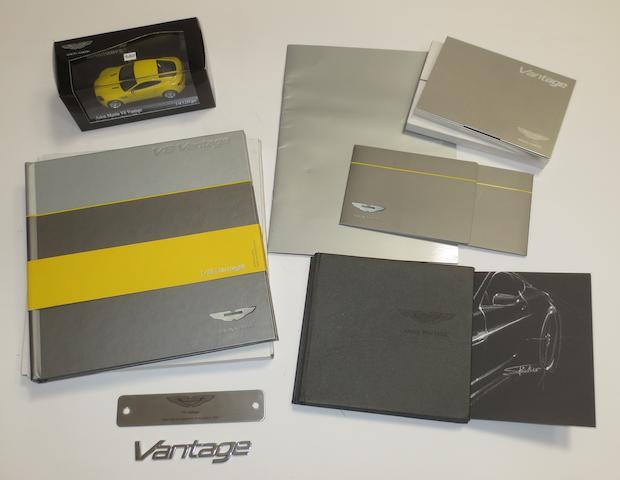 Assorted Aston Martin V8 Vantage automobilia,  ((Qty))