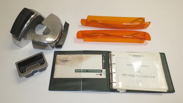 Accessories for Aston Martin V8 models,   ((4))