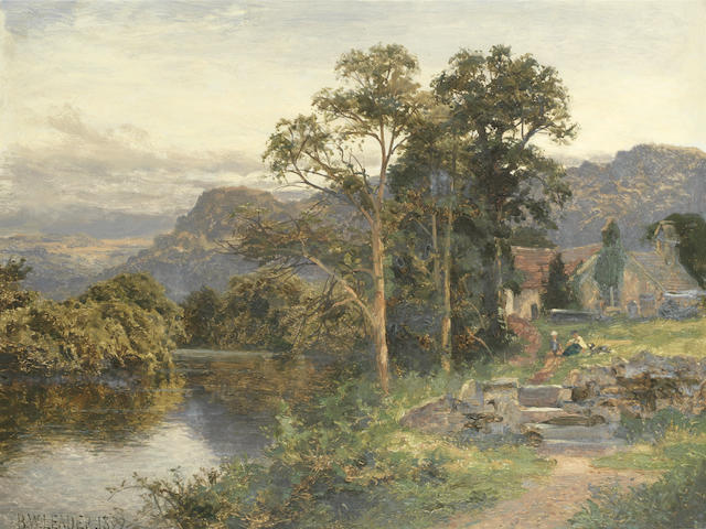 Benjamin Williams Leader, RA (British, 1831-1923) By the river