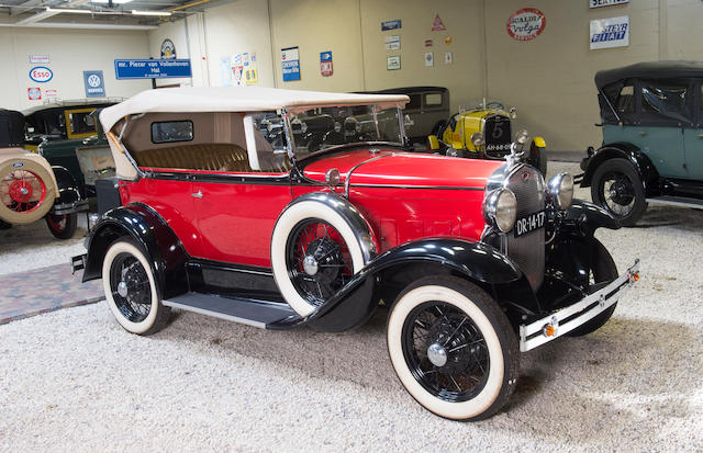 <b>1931 Ford  Model A 180 Deluxe Phaeton</b><br />Engine no. A4553484
