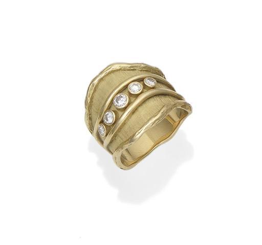 A diamond ring, by de Vroomen, 1979