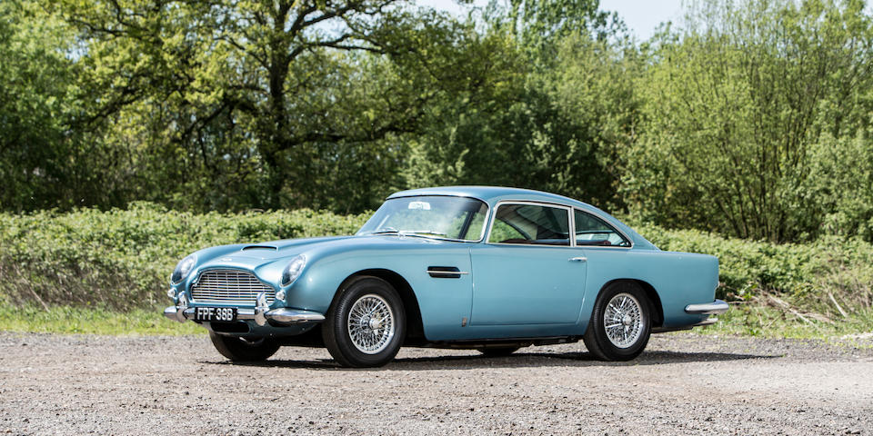 1964 Aston Martin  DB5 4.3-Litre Sports Saloon  Chassis no. DB5/1758/R
