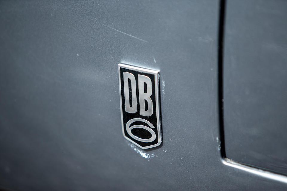 To Vantage Specification,1967 Aston Martin  DB6 4.5-Litre Sports Saloon to Vantage Specification  Chassis no. DB6/3044/R