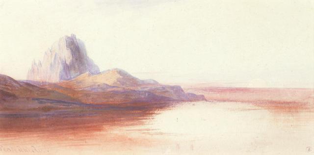 Edward Lear (British, 1812-1888) Pentedattilo, Calabria