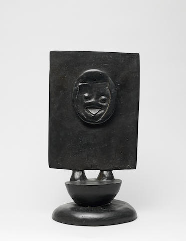 MAX ERNST (1891-1976) Chéri Bibi 32.8cm (12 15/16in) high. (Conceived in 1973 in a numbered edition of 175; this bronze version cast at a later date.)