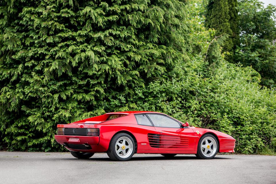1991 Ferrari Testarossa Coupé  Chassis no. ZFFAA17B000077224