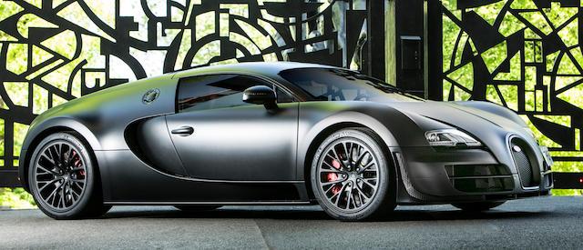 Bonhams The Last Super Sport Built 2012 Bugatti Veyron Super