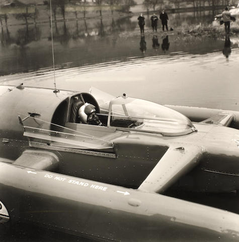 A quantity of Donald Campbell Water Speed Record photographs, ephemera and collectables,  ((Qty))
