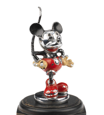 A scarce painted Mickey Mouse mascot, by Desmo, British, circa 1930,