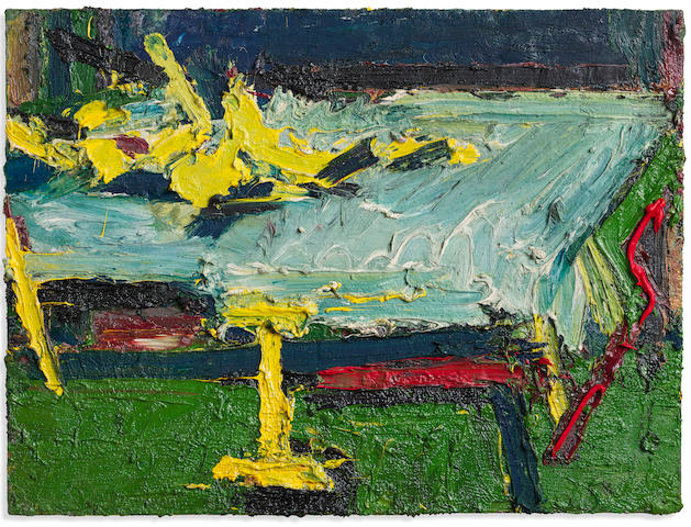 Frank Auerbach (British, born 1931) Figure on a Bed II 1967